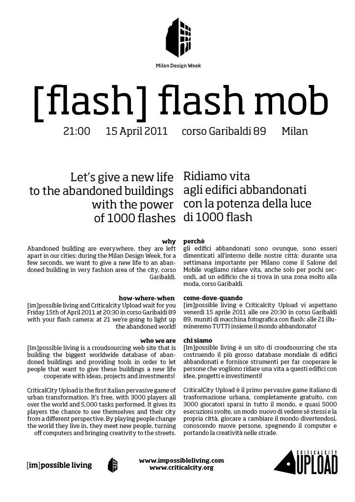 flash flah mob