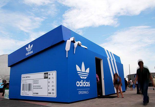 adidas pop up