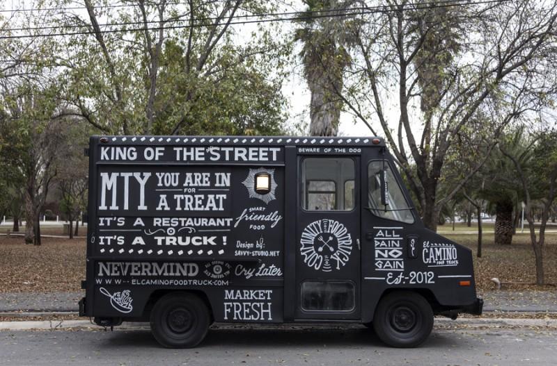 El Camino food truck di Monterey
