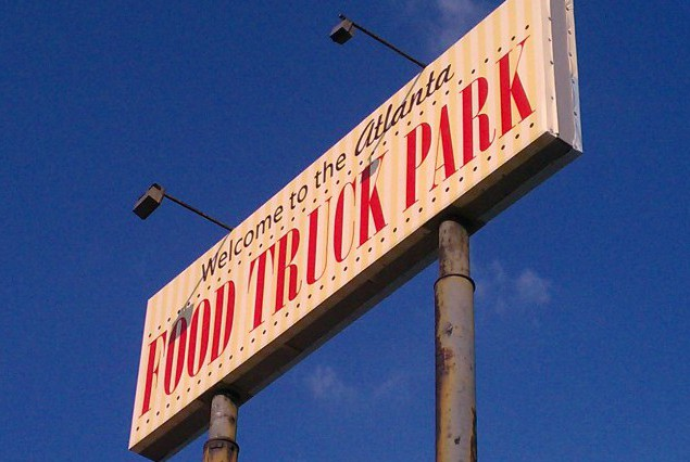 food truck park