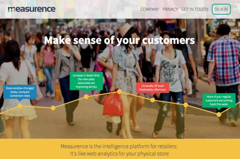 Measurance homepage